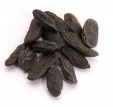 Tonka beans, which are sometimes used in roll on perfume.