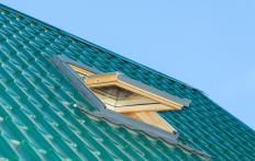 Roof windows can usually be opened and closed.