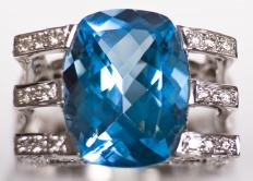 Blue topaz is sometimes used to heal the throat chakra, which is associated with the color blue.