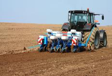 Farmers might lease farm equipment.