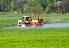 Phosphate fertilizer in its liquid form can be easily applied to fields and crops.
