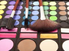 Cosmetics managers typically work at makeup counters in department or retail stores.