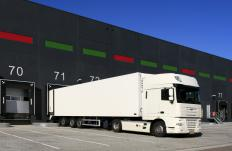 A transportation manager may oversee the receiving and shipment of a company's goods.