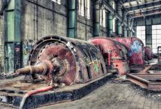 Turbines have been used to generate electricty from working fluids in power plants for over a century.