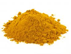 Turmeric, which contains curcumin.