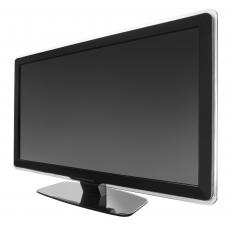 A flat screen monitor.