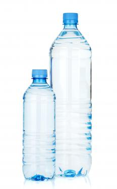 Some water bottles come with filtration devices built into their lids.