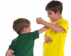 A narcissistic child may fight others to establish his superiority over others.