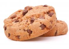 Semisweet chocolate chips are a popular cookie ingredient.