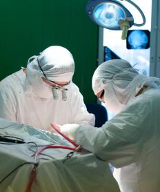 Brain surgery typically includes anesthesia and a craniotomy.