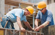 Construction accounting includes determing direct costs, such as labor.