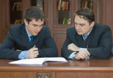 Many firms have associates who serve as employees of partners.