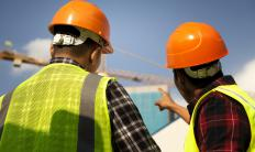 "Many small construction companies are ""bonded."""