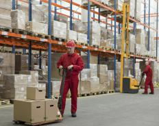 A drop shipper will utilize warehouses to stock products.