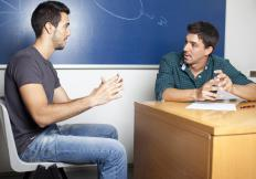 Academic advisors may provide counseling to students.
