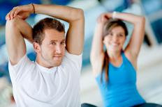 Performing a regular regimen of stretching exercises can help relieve stiffness and soreness.
