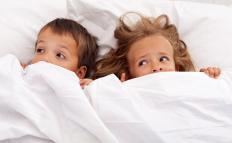 An inability to sleep or recurring nightmares can be a sign of grief in children.