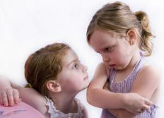 Divorce can lead to sibling rivalry for a parent's affection.