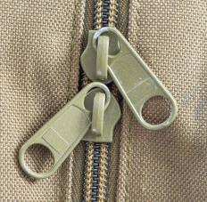 A side seam may include a zipper.