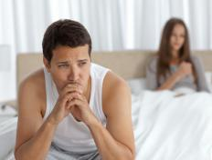 Concerns about erectile dysfunction might worsen the problem.