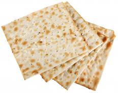 Saltines are often eaten to help reduce nausea.