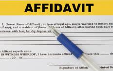 A vehicle affidavit is a legally bound document concerning a motor vehicle.