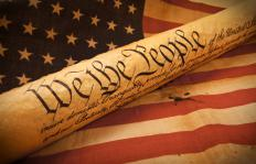 The United States Constitution gives the guiding principles upon which the U.S. was founded.