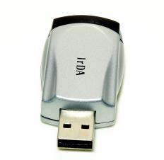 A USB dongle.