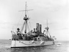 """Remember the Maine"" refers to the USS Maine, which was destroyed in Havana Harbor in 1898."
