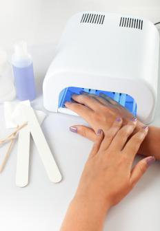 Getting a manicure can help you stop biting your nails.