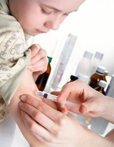 Influenza vaccination is encouraged for young children since they are more at risk for having serious complications from an influenza infection.