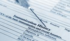 Keeping track of vaccinations can help ensure all mandatory vaccinations have been administered.