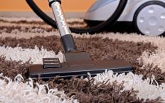 Upright vacuums work best on carpet.
