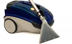 Most canister vacuums will come with a vacuum brush attachment.