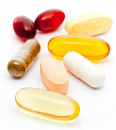 Various high calorie supplements.