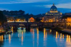 Vatican City, an enclave within Rome, is the seat of the Roman Catholic Church.