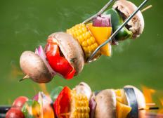 Cooking vegetables on a grill is a form of food processing.