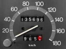 The mileage of a used axle can be verified using the odometer of the donating vehicle.