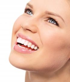 Dentists can restore broken teeth with veneers, caps, crowns and fillings.