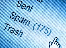 One way to block anonymous bulk email is to use a spam filter.