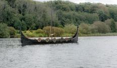 York boats have similarities to viking vessels.