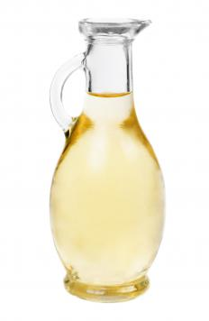 Vinegar may be used on surfaces to prevent hard water stains.