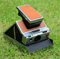 Instant cameras have self-developing film that allows pictures to be produced within minutes after the photo is snapped.