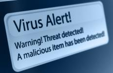 Virus removal software is common freeware.
