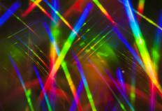A laser light show is a type of multimedia presentation.