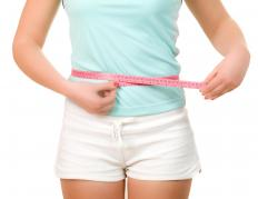 Exercise and a healthy diet are the keys to getting a thin waistline.