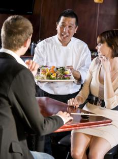 Waiters must try to strike a balance between being obsequious and attentive.