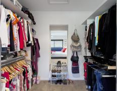 Fitted wardrobes may include a walk-in closet that can accommodate apparel, accessories, and other items.