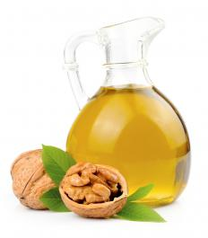 Cold pressed walnut oil has a pale yellow color and light taste.