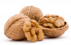 Walnuts in the shell.